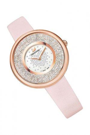 Наручные часы SWAROVSKI. Цвет: розовый