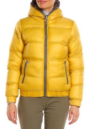 Куртка Drywash. Цвет: желтый