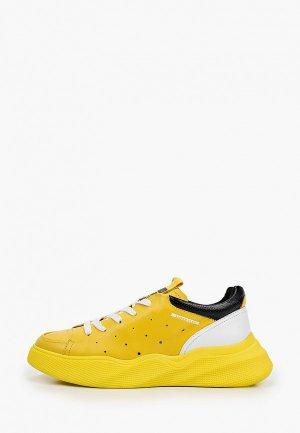 Кроссовки MCM. Цвет: желтый