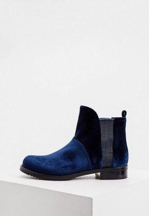Ботинки Loriblu. Цвет: синий