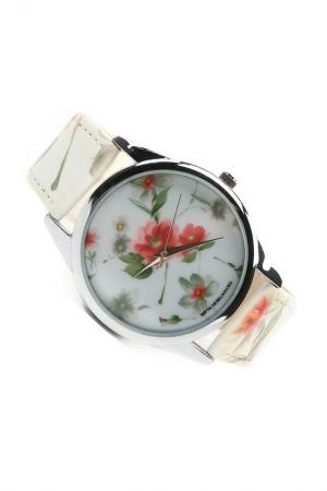 Часы Акварель MITYA VESELKOV. Цвет: белый