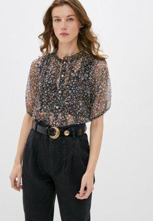 Блуза b.young. Цвет: разноцветный