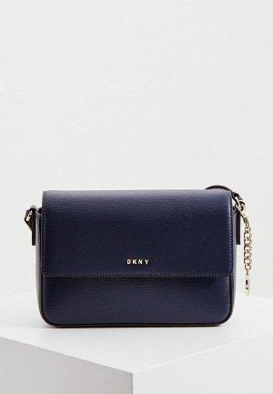 Сумка DKNY. Цвет: синий