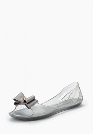 Балетки King Boots. Цвет: серый