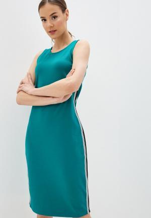 Платье 4F. Цвет: бирюзовый