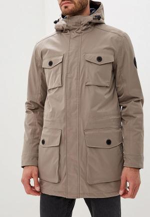 Куртка утепленная Lindbergh. Цвет: бежевый