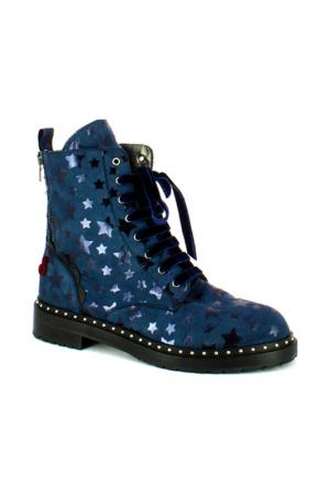 Ботинки FORNARINA. Цвет: серый
