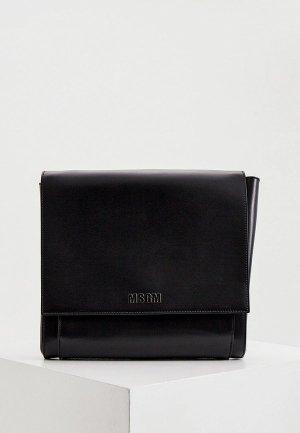 Клатч MSGM. Цвет: черный