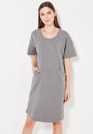 Платье Rinascimento. Цвет: серый