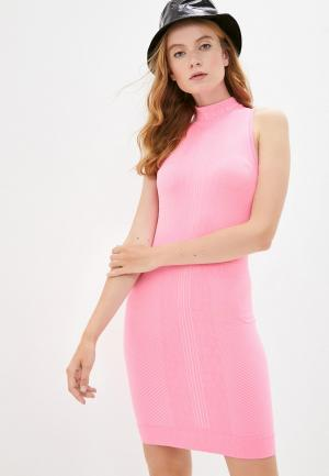 Платье Nike. Цвет: розовый