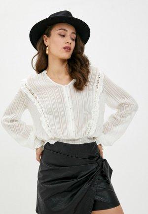 Блуза b.young. Цвет: белый