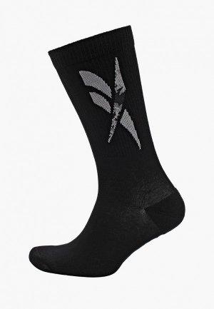 Носки Reebok Classic. Цвет: черный