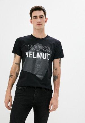 Футболка Helmut Lang. Цвет: черный