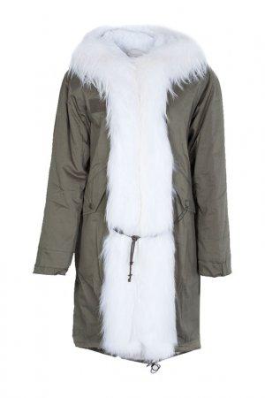 Куртка Marco Del Forte. Цвет: белый