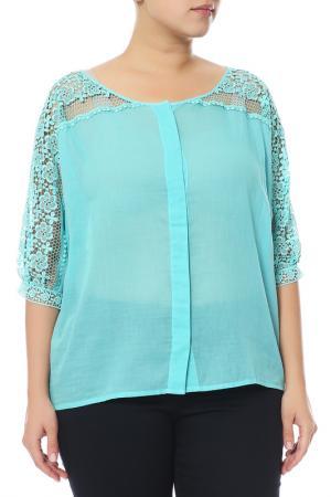 Блуза Charo Ruiz. Цвет: голубой