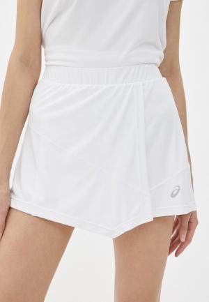 Юбка-шорты ASICS. Цвет: белый
