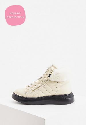 Ботинки Baldinini. Цвет: бежевый