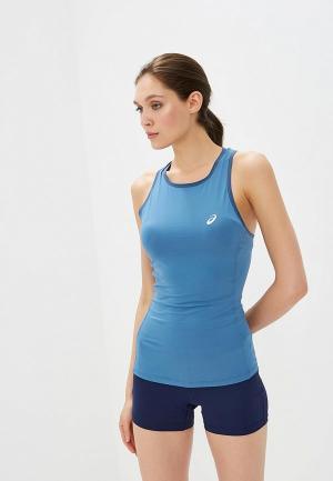Майка спортивная ASICS. Цвет: голубой