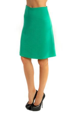 Юбка LuAnn. Цвет: зеленый