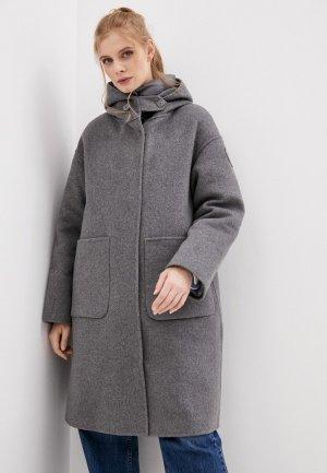 Пальто Blauer USA. Цвет: серый