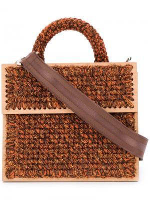 Сумка Lyudmila Copacabana 711. Цвет: коричневый