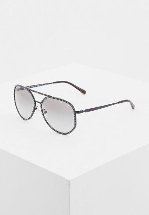 Очки солнцезащитные Michael Kors. Цвет: серый