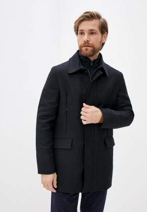 Пальто Trussardi. Цвет: синий
