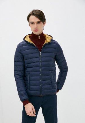 Куртка утепленная Old Seams. Цвет: синий
