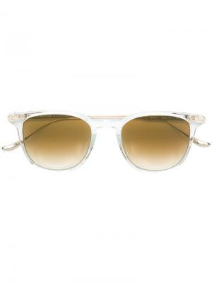 Round-frame sunglasses Chrome Hearts. Цвет: телесный