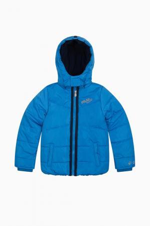 Куртка LEMON. Цвет: голубой