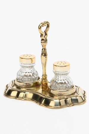 Солонка и перечница Stilars. Цвет: золотой