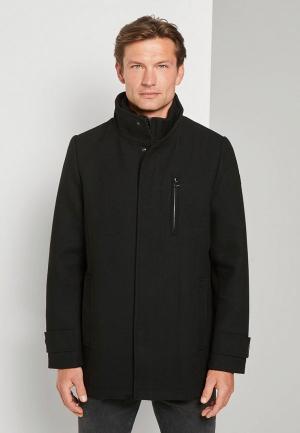 Пальто Tom Tailor. Цвет: черный