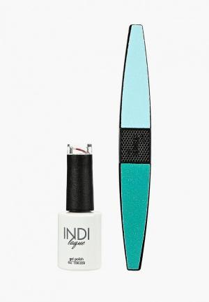 Набор для ухода за ногтями Runail Professional. Цвет: бордовый