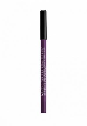 Карандаш для губ Nyx Professional Makeup. Цвет: фиолетовый