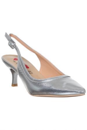High heels sandals GAI MATTIOLO. Цвет: silver