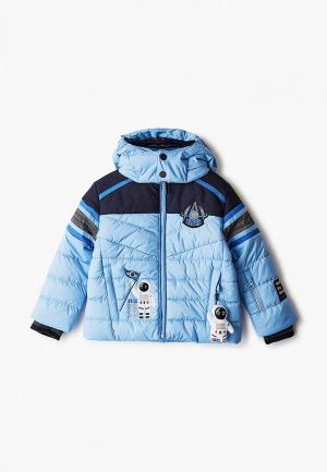 Куртка утепленная Poivre Blanc. Цвет: голубой