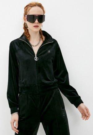 Олимпийка Juicy Couture. Цвет: черный