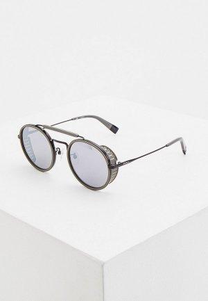 Очки солнцезащитные Furla. Цвет: серый
