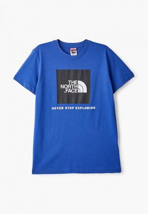Футболка The North Face. Цвет: синий