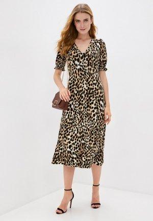 Платье Wallis. Цвет: коричневый