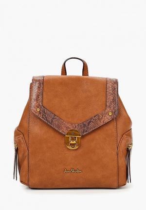 Рюкзак Jane Shilton. Цвет: коричневый