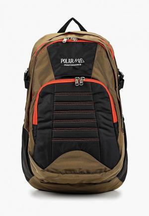 Рюкзак Polar. Цвет: коричневый