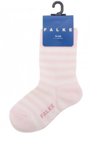 Хлопковые носки Falke. Цвет: розовый