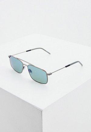 Очки солнцезащитные Hugo. Цвет: серый