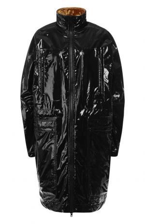 Пальто с воротником-стойкой Haider Ackermann. Цвет: черный