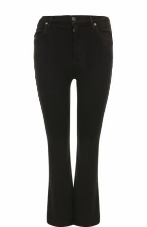 Укороченные расклешенные джинсы Citizens Of Humanity. Цвет: черный