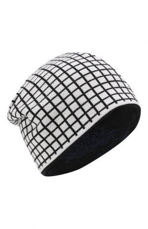 Двусторонняя шерстяная шапка Haider Ackermann. Цвет: разноцветный