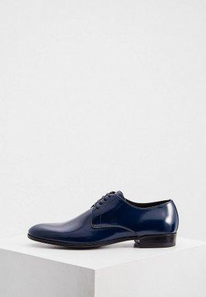 Туфли Dolce&Gabbana. Цвет: синий