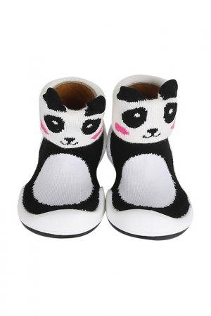 Носочки-ботиночки Komuello. Цвет: черный