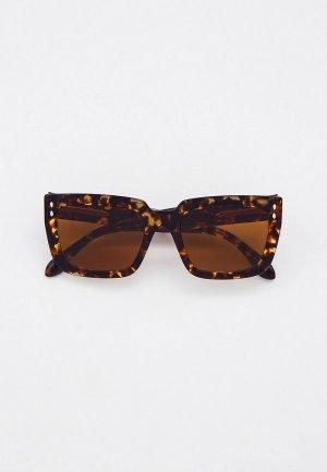 Очки солнцезащитные Isabel Marant. Цвет: коричневый